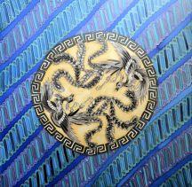 Batik Parang Cendrawasih biru